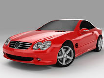 Mercedes SL 500 Images stock