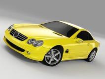 Mercedes SL 500 royaltyfri fotografi