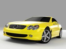 Mercedes SL 500 Stock Image