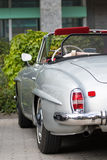 Mercedes 190 SL - alter Timer Stockbilder