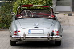 Mercedes 190 SL - alter Timer Stockbild