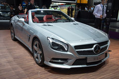 Mercedes SL-class Stock Photography