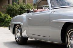 Mercedes 190 SL - gammal tidmätare Arkivbilder