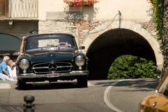 Mercedes 300 SL Gullwing à Bergame Grand prix historique 2017 Photos stock
