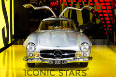 Mercedes 300SL Gullwing Stock Images