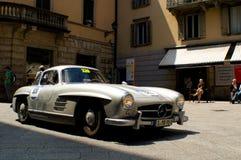 Mercedes 300 SL a Mille Miglia 2016 Fotografia Stock Libera da Diritti