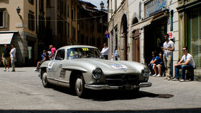 Mercedes 300 SL at Mille Miglia 2016 Royalty Free Stock Photography