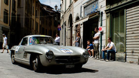 Mercedes 300 SL at Mille Miglia 2016 Royalty Free Stock Image