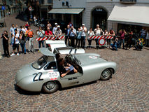 Mercedes 300 SL at Mille Miglia 2015 Stock Photo