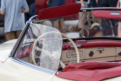 Mercedes 190 SL - Old timer Stock Photo