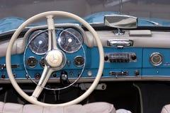 Mercedes 190 SL - Oude tijdopnemer Stock Afbeeldingen
