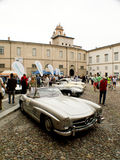 Mercedes 300SL Roadster at Bergamo Historic Grand Prix 2015 Royalty Free Stock Photos