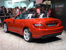 Mercedes SLK 250 Stock Photos