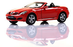 Mercedes SLK 350 Stock Photo