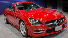 Mercedes 2013 SLK Photo stock