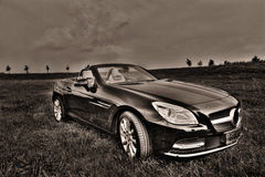 Mercedes SLK 200 Cabrio Royalty Free Stock Images
