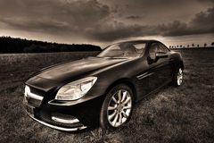 Mercedes SLK 200 Cabrio Royalty Free Stock Photo