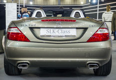 Mercedes SLK 250 Royalty Free Stock Image
