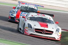 MERCEDES SLM AGM GT3 RACE CAR Stock Photo