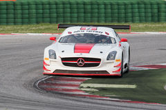 MERCEDES SLM AGM GT3 RACE CAR Stock Photos