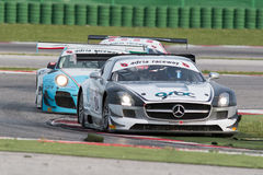 MERCEDES SLM AGM GT3 RACE CAR Royalty Free Stock Images