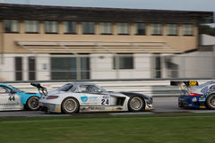 MERCEDES SLM AGM GT3 RACE CAR Stock Images