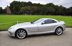 Mercedes SLR McLaren a Chelsea AutoLegends immagine stock