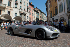 Mercedes SLR Stirling Moss at Mille Miglia 2015 Stock Image