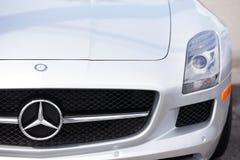 Mercedes SLS Immagine Stock Libera da Diritti