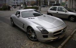 Mercedes SLS Royalty-vrije Stock Afbeeldingen