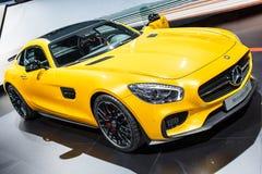 Mercedes SLS Imágenes de archivo libres de regalías
