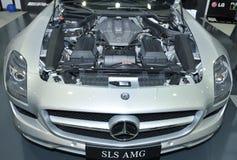 MERCEDES SLS AMG Royalty-vrije Stock Afbeeldingen