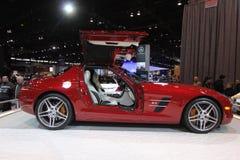 Mercedes SLS AMG Stockbild