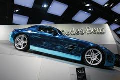 Mercedes sls amg 2012 Stock Photo