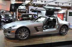 Mercedes SLS AMG Images libres de droits