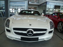 Mercedes SLS AMG Royalty Free Stock Photography