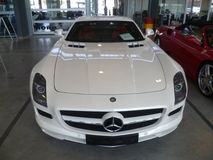 Mercedes SLS AMG Foto de Stock Royalty Free