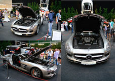 Mercedes Sls Amg Photographie stock