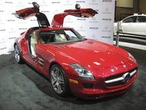 Mercedes SLS AMG Photos libres de droits
