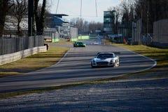 Mercedes SLS AMG Blancpain Series 2015 Royalty Free Stock Photo