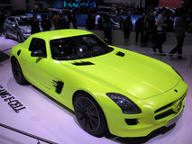 Mercedes SLS AMG E-cell Royalty Free Stock Photography
