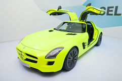 Mercedes SLS AMG E-CELL Stock Images