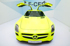 Mercedes SLS AMG E-CELL Stock Photography