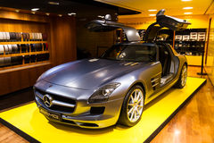 Mercedes SLS AMG 6.3 Stock Images