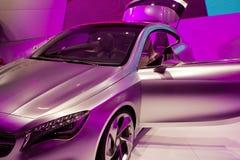 Mercedes SLS AMG su 64rd IAA Immagini Stock Libere da Diritti