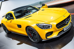 Mercedes SLS Royalty Free Stock Images