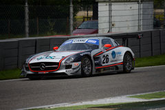 Mercedes SLS GT3 Italian GT 2015 at Monza Royalty Free Stock Photos