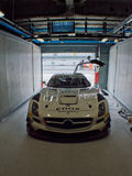 Mercedes SLS GT3 in Monza Royalty Free Stock Image