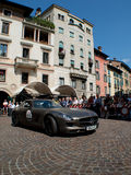 Mercedes SLS at Mille Miglia 2015 Stock Images