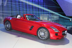 Mercedes sports car Stock Photography
